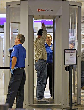 TSA scanner